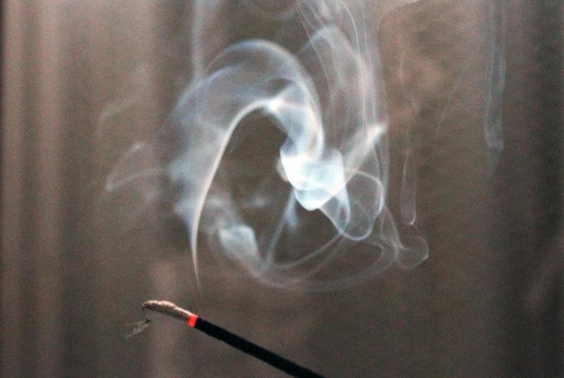 гадание на дыме